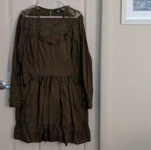 ASOS Lace Smock Dress